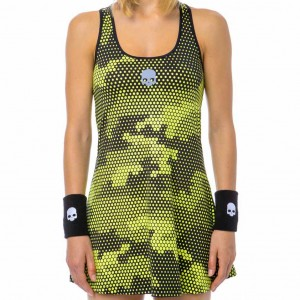 Платье Hydrogen Tech Camo Dress Yellow Black купить