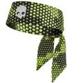 Теннисная повязка на голову для большого тенниса Hydrogen Headband Camo Black Fluo Yellow