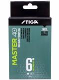 Мячики для настольного тенниса Stiga Master 1* White