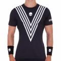 Теннисная одежда для большого тенниса Hydrogen Tech Victory T-Shirt Black