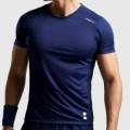 Теннисная одежда для большого тенниса Nordicdots Performance T-Shirt Navy
