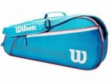 Сумка для бадминтона Wilson Junior 3 Pack Bag Blue