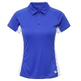 Wilson nSet Women Polo Blue Iris