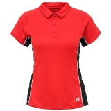 Wilson nSet Women Polo Red