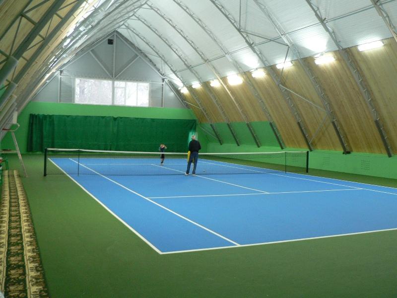 Теннисный корт частный, Сколково