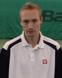 Инструктор по теннису Алексей Артеменко
