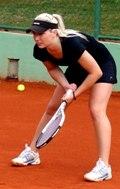 Инструктор по теннису Анна Кечко